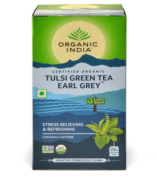 tulsi earl grey tea